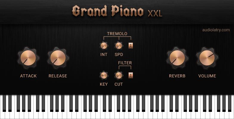 Grand Piano XXL Free VST Plugin