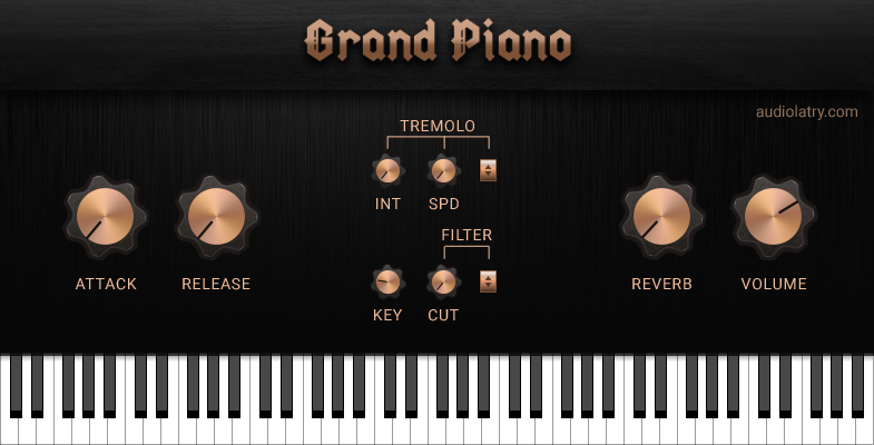 Grand Piano Free ROMPler