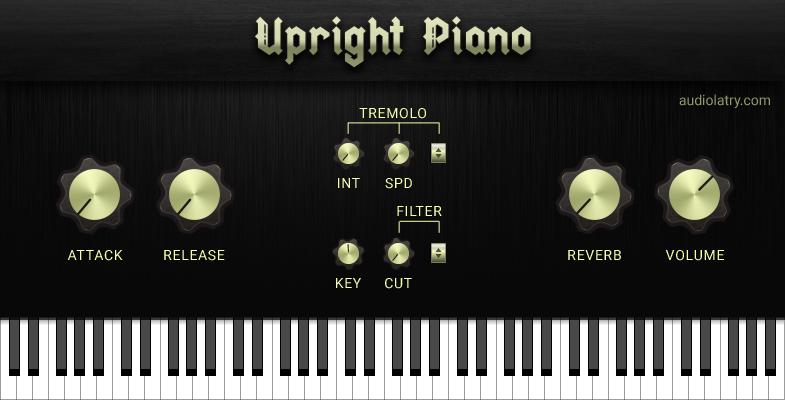 Upright Piano Free Virtual Instrument